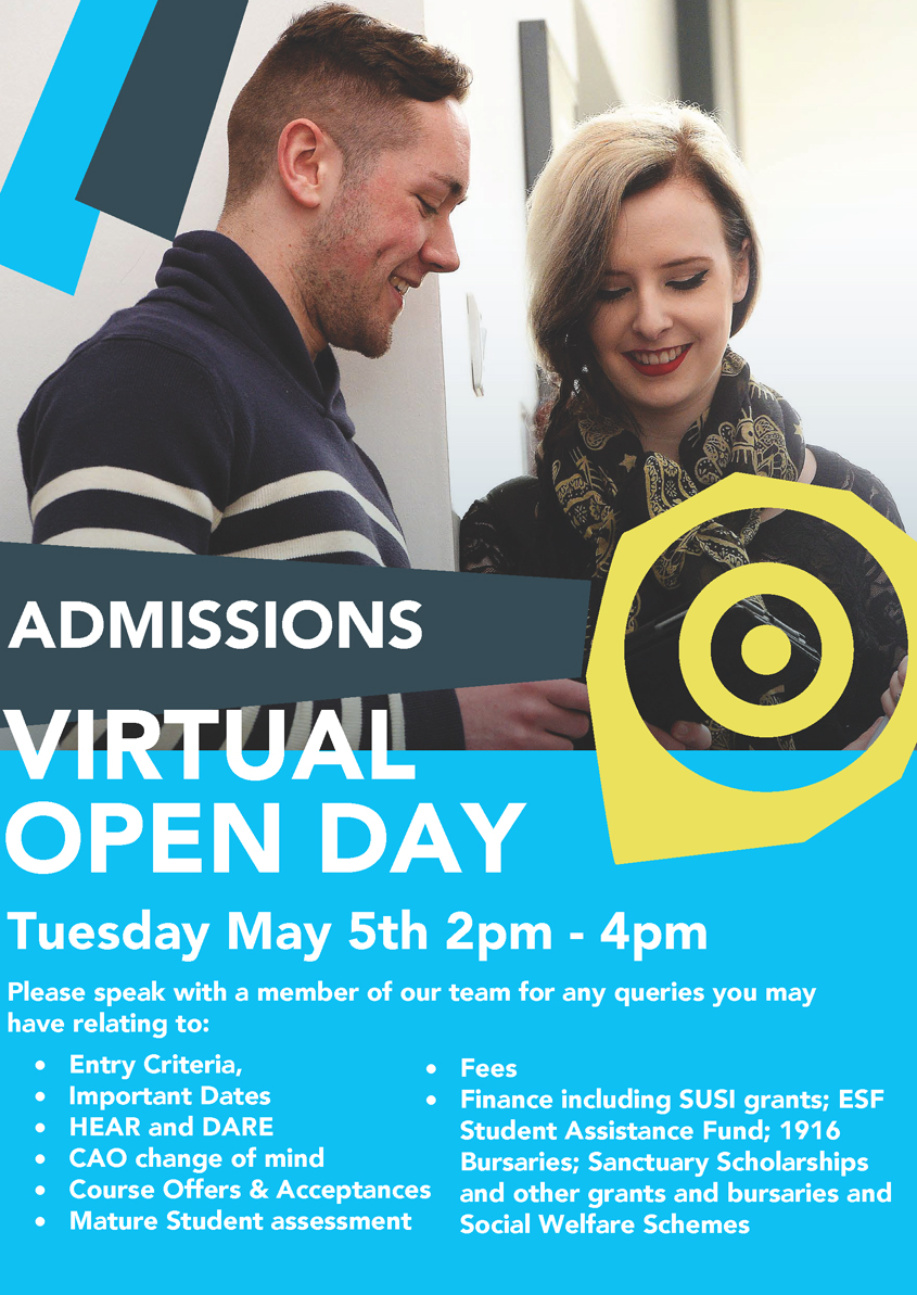 Admissions Virtual Open Day