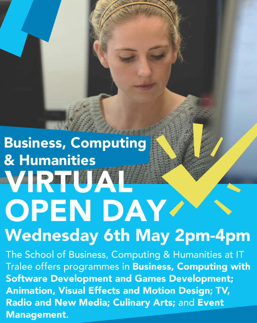 Business Computing and Humanities Virtual Open Day