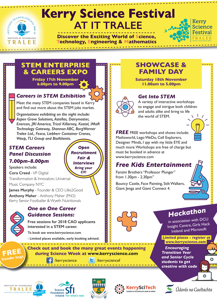 Kerry Science Festival at IT Tralee