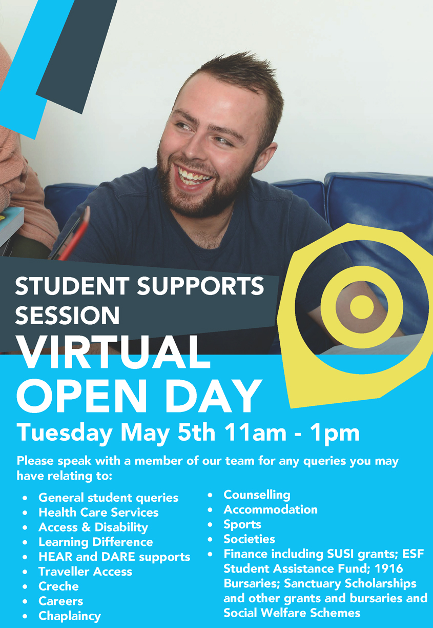 Student Support Session Virtual Open Day 2020