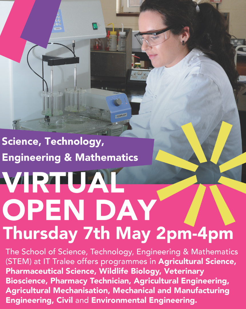 Science Technology Engineering and Mathematice Virtual Open Day