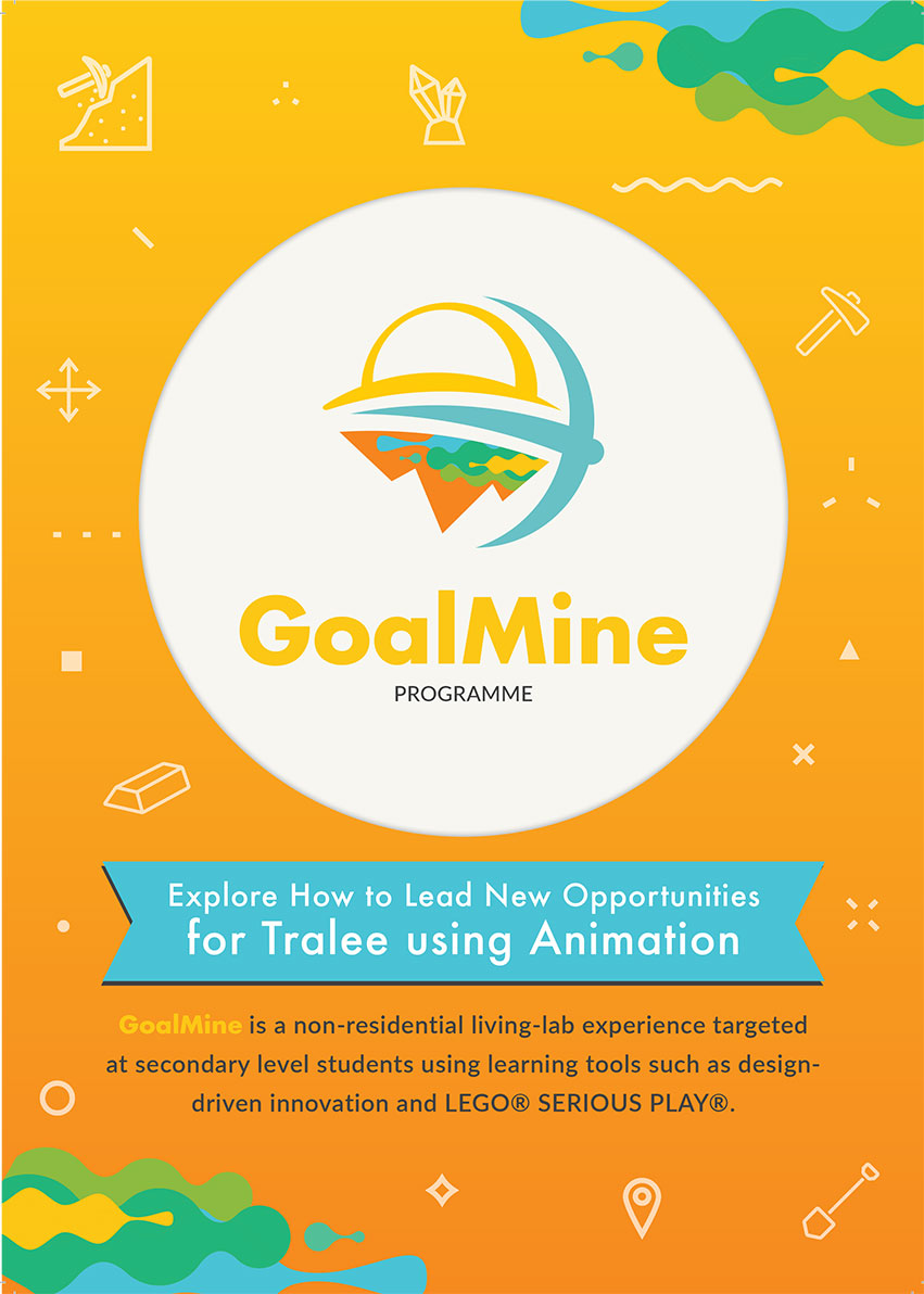 Goldmine Summer Camp - Brochure Cover