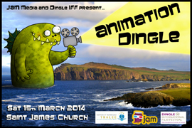 YA-O-TH Dingle Animation Competition open to all Transitional Year Students in Kerry for 2014