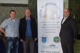 Culinary Lecturers from IT Tralee present at Gastronomy Symposium