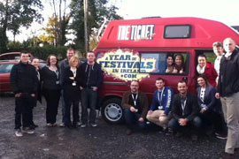 HCT students attend the Association of Irish Festivals & Events Conference in Galway