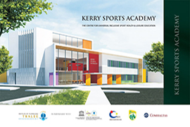 Stage 2 of the tender process for the Kerry Sports Academy