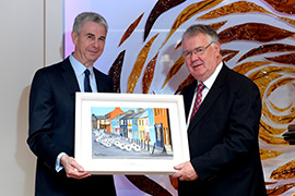 Tomás Garvey Honoured with IT Tralee Cantillon Business Leader Award.