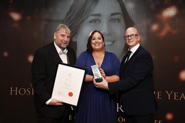 IT Tralee Hotel Management Graduate Scoops National Award