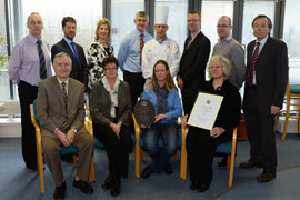 Hotel, Culinary and Tourism Department Receive Food Safety Assurance Award
