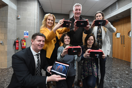 Primary Schools and IT Tralee Secures Funding for Virtual Reality Programme