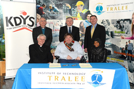 ITT and KDYS join forces for Young People.