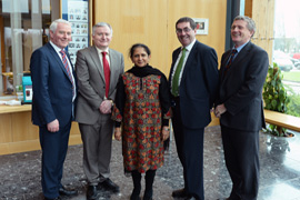 Indian Ambassador to Ireland Visits IT, Tralee