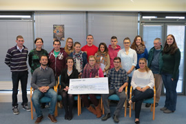 IT Tralee BA Travel and Adventure Tourism Management students presented