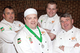 Keith Pigott takes Second Prize in the National Knorr Student Chef of the Year Competition