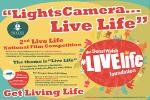 2nd Live Life National Film Competition - Closing date for entries 31st January 2015
