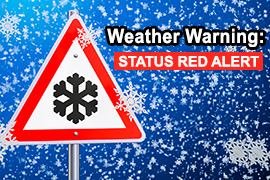 IT Tralee Campus Closure due to Red Weather Alert