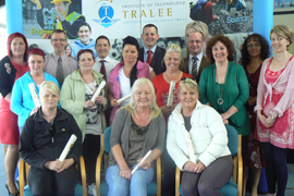 Traveller Pride Week acknowledged by Certificates Awarded to the Traveller Community at the IT, Tralee