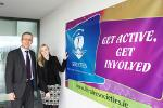 Launch of the new IT Tralee Societies website. Get Active. Get Involved!