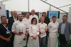 Dingle Invitational Culinary Pentathlon 2019 a Massive Success with IT Tralee Culinary Arts Team announced as Co-Champions.