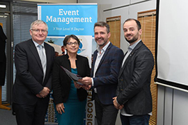IT Tralee launches Ireland's First 3-Year Honours Degree in Event Management