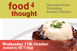 IT, Tralee Host Food 4 Thought Event On Wednesday 17th October