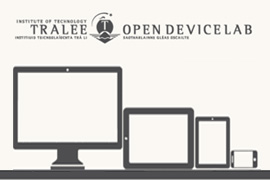 Computing Department at Institute of Technology Tralee Open First Open Device Lab (ODL) in Ireland