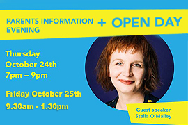 IT Tralee Parents Information Evening and Open Day