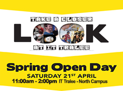 Spring Open Day 2018