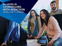 BSc Hons in Counselling with Addiction