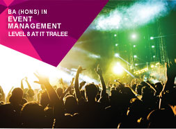 BA Hons in Event Management