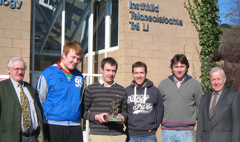 Winners of the CIOB in Ireland Regional Student Challenge 2011