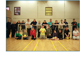 Group at FAI Session at Aura Leisure Centre