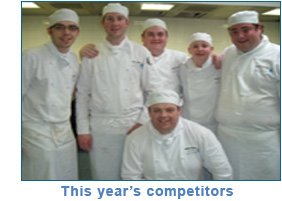 This year's competitors