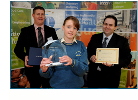 Kerry Student Winners of SciFest 2009