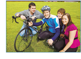 IT, Tralee Student Prepares for Charity Cycle to Galway