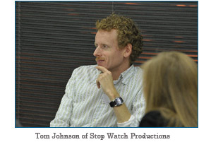 Tom Johnson of Stop Watch Productions