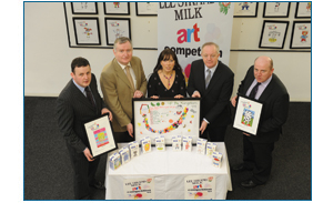 Lee Strand Milk Art Competition Exhibition