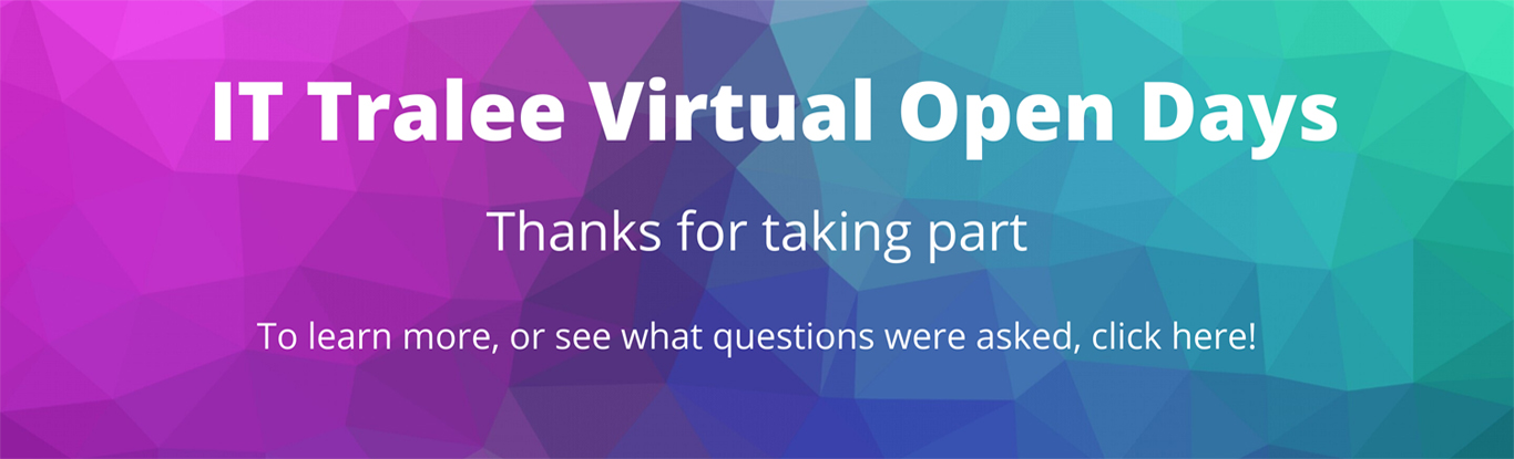 Join our Virtual Open Day 2020