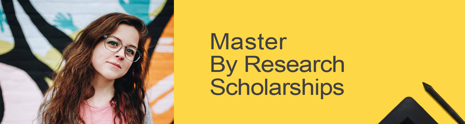 Masters by Research Scholarships