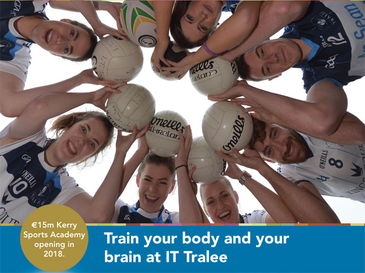 Sports Scholarships Students at IT Tralee