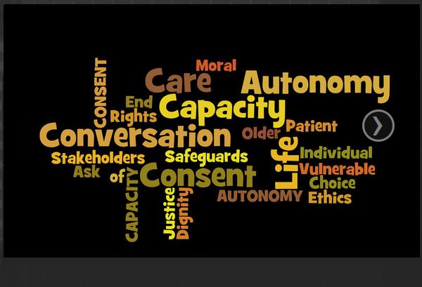 Autonomy Capacity Consent Conversations for Care